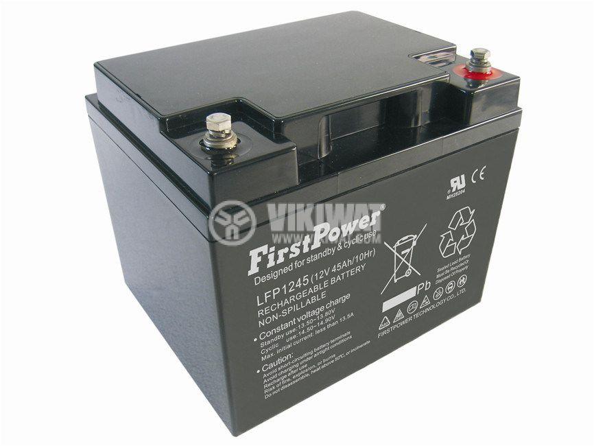Акумулатор 12V 45Ah тягов FirstPower LFP1245