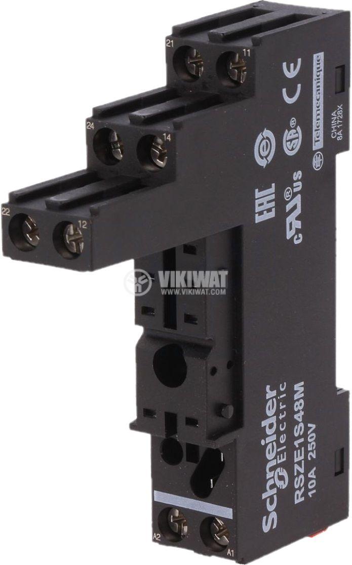 Цокъл за реле RSZE1S48M 8pin 10A/250V