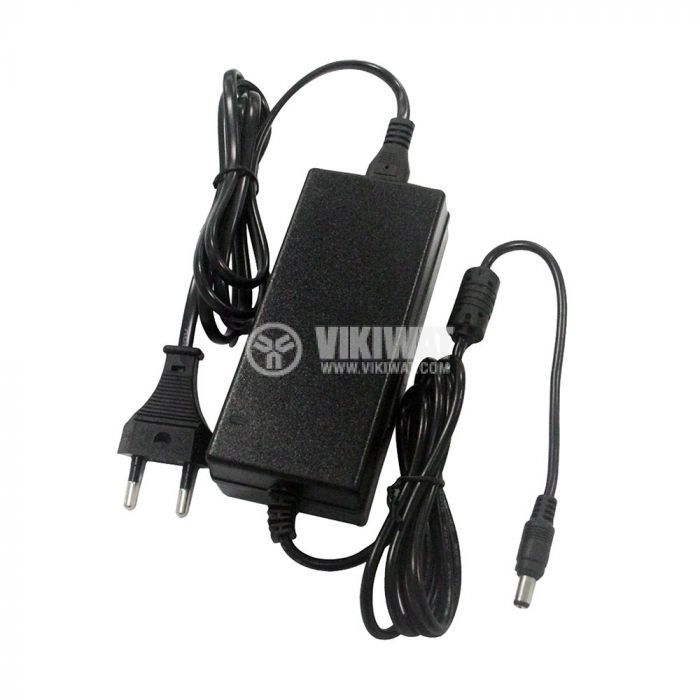 Двоен адаптер VT-23043, 12VDC, 3.5A, 42W, 100~240VAC/50Hz, стабилизиран