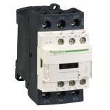 Контактор LC1D25BD, 3-полюсен, 3xNO, 24VDC, 25A, помощни контакти NO+NC