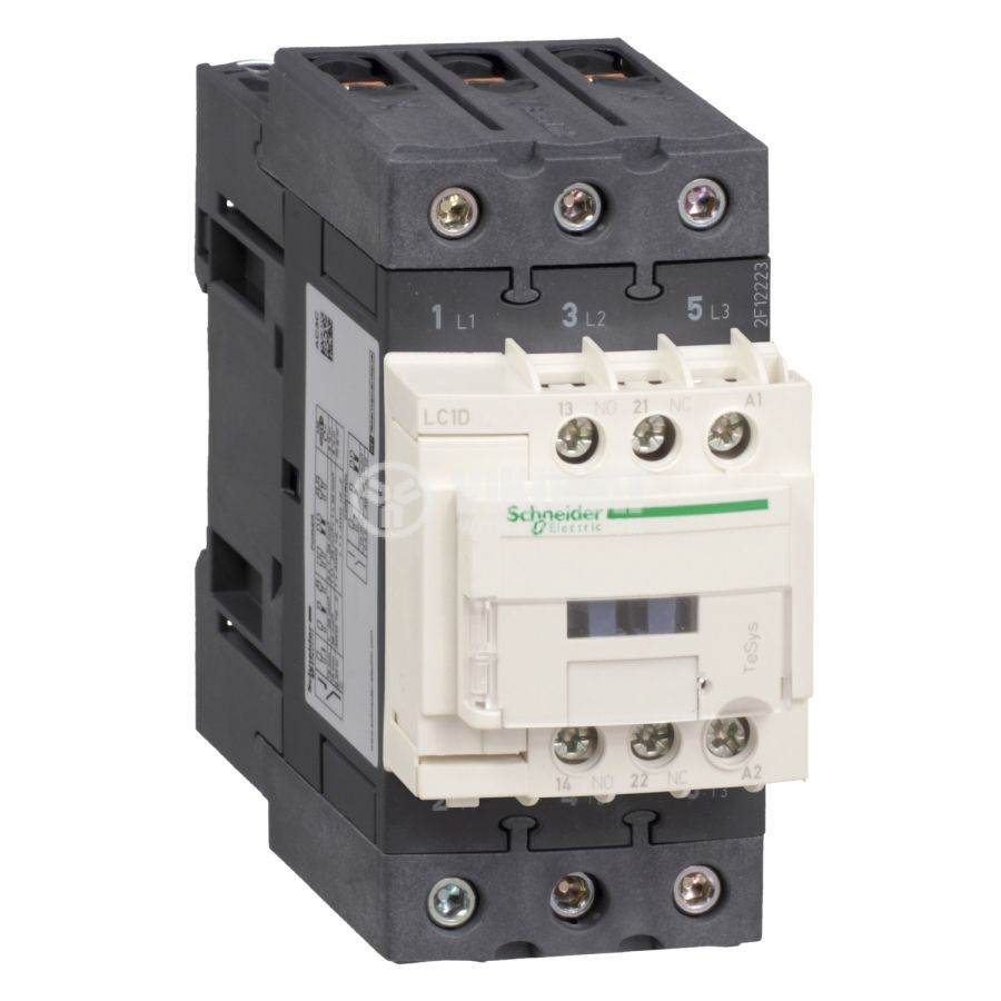 Контактор LC1D40AB5 3-полюсен 3xNO 24V 40A