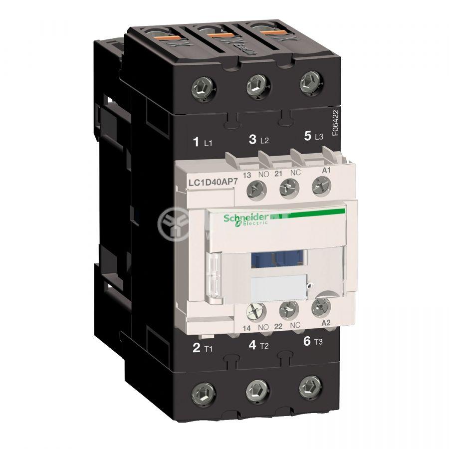 Контактор LC1D40AP7 3-полюсен 3xNO 230V 40A