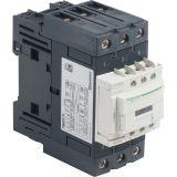 Контактор LC1D50ABD, 3-полюсен, NO+NC, 24VDC, 50A, 690V