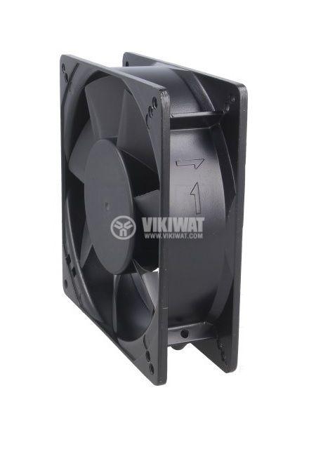 Вентилатор 230VAC, 127x127 - 4