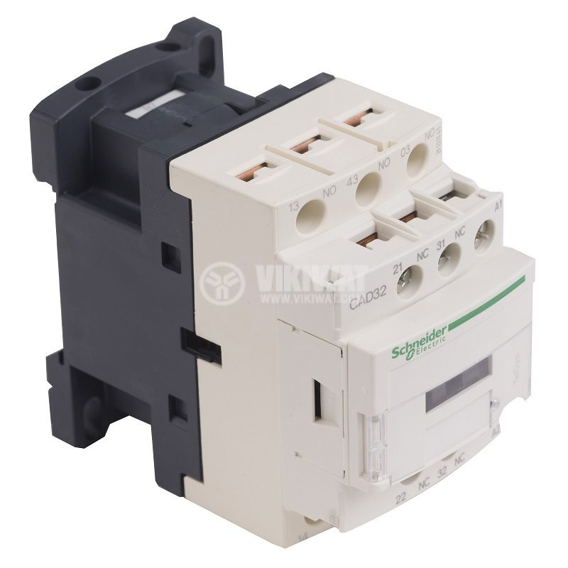 Контактор CAD32B7, 5-полюсен, 3xNO+2xNC, 10A, 24VDC