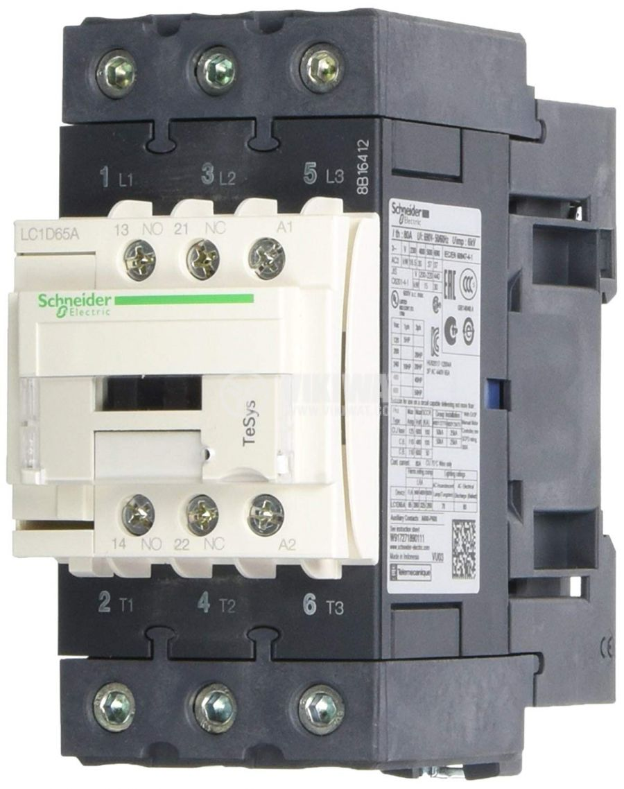 Контактор LC1D65AP7 - 1