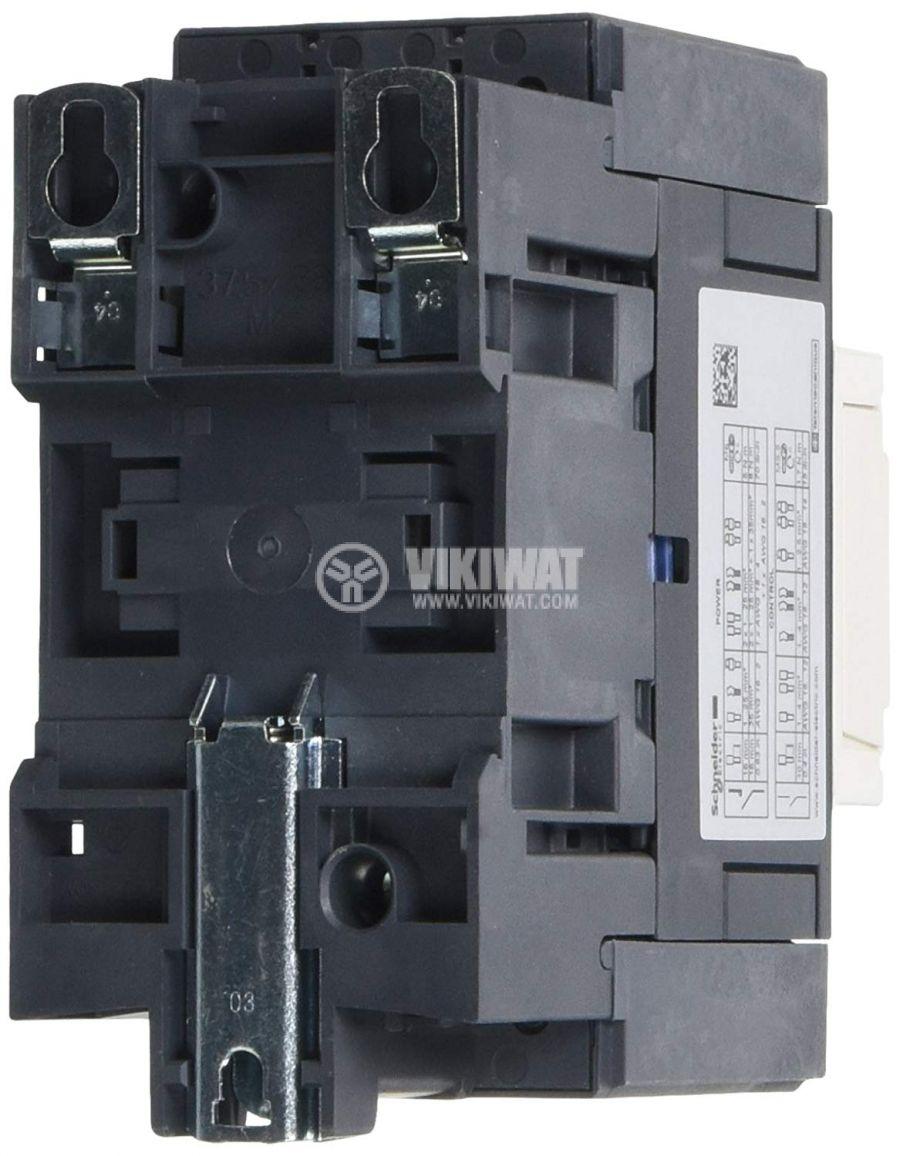 Контактор 3-полюсен 3xNO 65A 230V помощни контакти NO+NC - 2