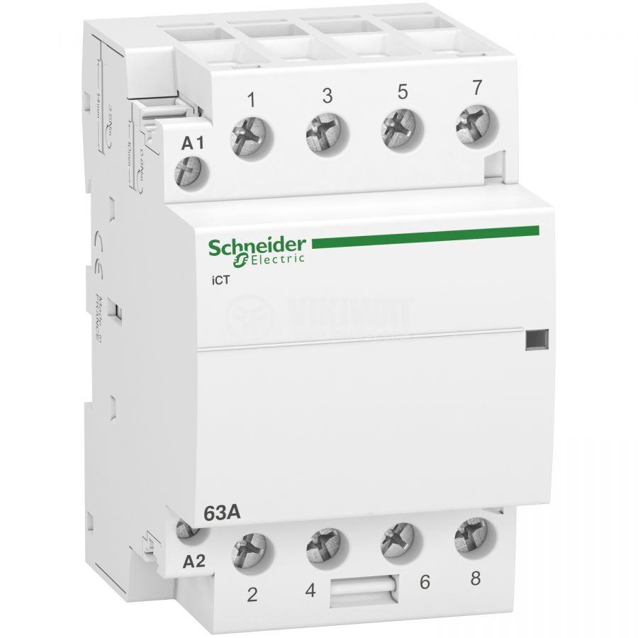 Контактор A9C20864 4-полюсен 4xNO 63A 230V