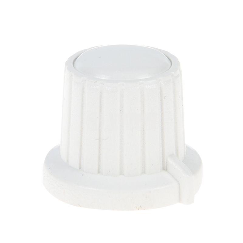 Копче за потенциометър VR01, ф18x15.5mm с индикатор, бяло - 1