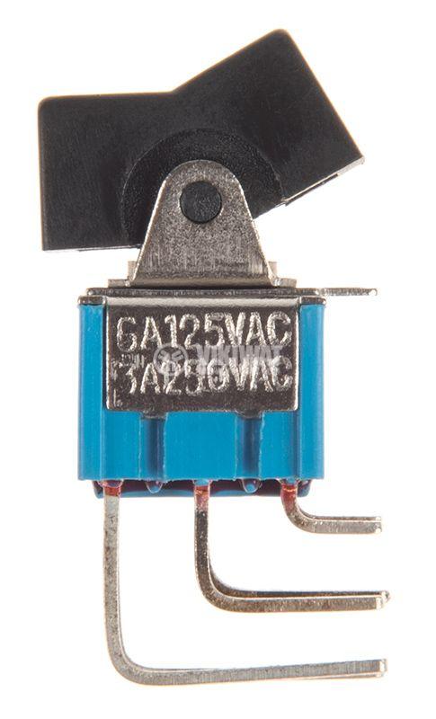 Rocker превключвател, 2 позиции, ON-ON, 3A/250VAC, отвор 18x11mm - 2
