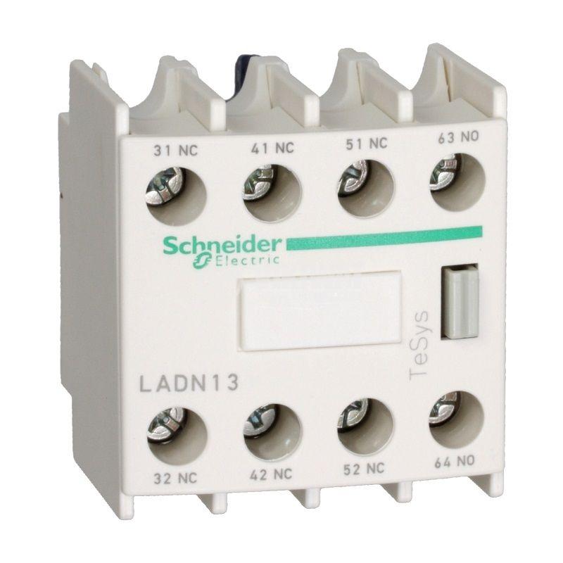 Помощни контакти LADN04 10A/690VAC 4PST 4xNC