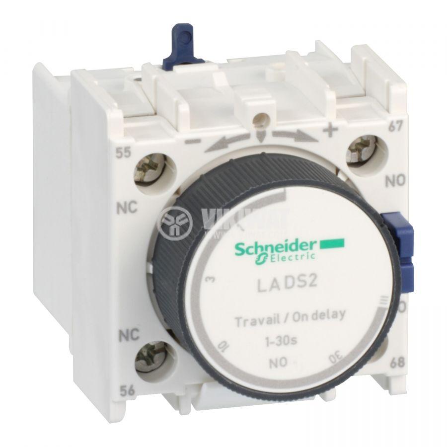 Времезакъснителен блок LADS2 SPDT-NO+NC 10A/690V 0.1-30s