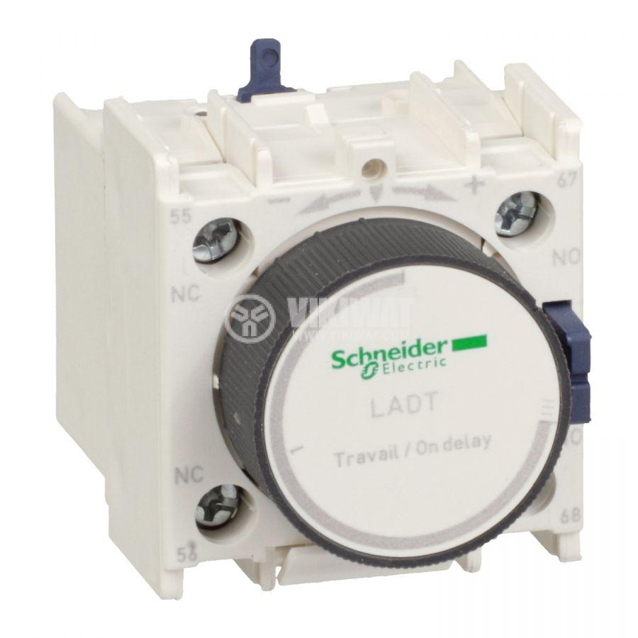 Времезакъснителен блок LADT0 SPDT-NO+NC 10A/690V 0.1-3s