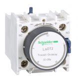 Времезакъснителен блок LADT2, SPDT-NO+NC, 10A/690VAC, 0.1-30s