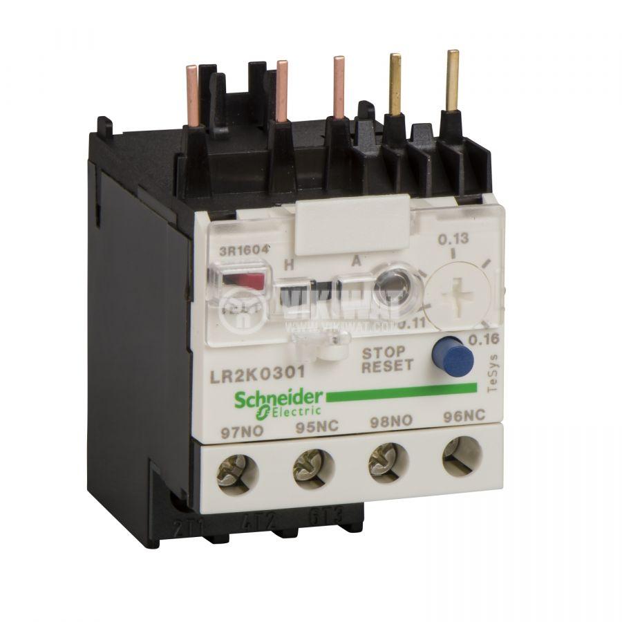 Термично реле LR2K0321 трифазно 10-14A NO+NC 6A/690V
