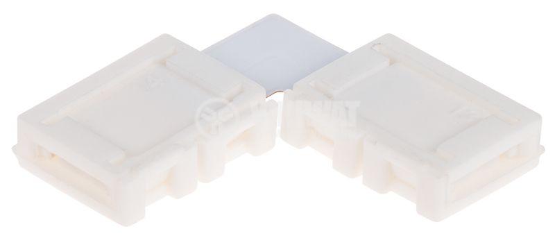 Свързващ конектор за LED лента SMD3528 90° - 1