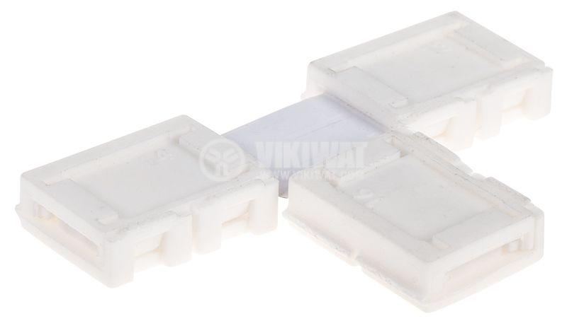 Свързващ конектор за LED лента SMD3528 Т-образен - 1