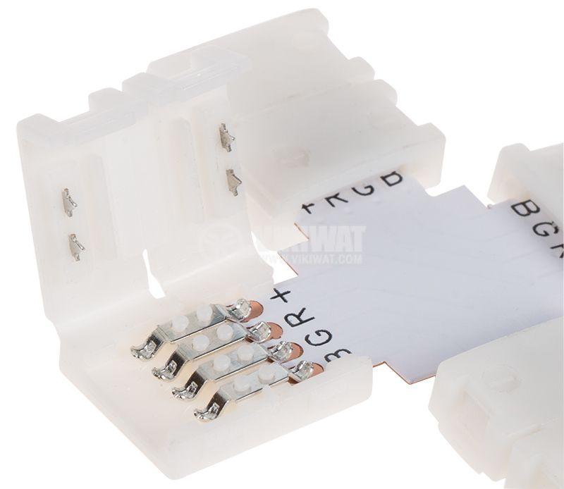 Свързващ конектор за LED лента RGB - 2