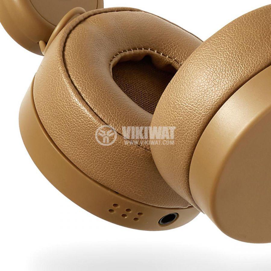 Слушалки HPWD4000BN с рога на елен жак 3.5mm 85dB 1.2m кафяви - 8