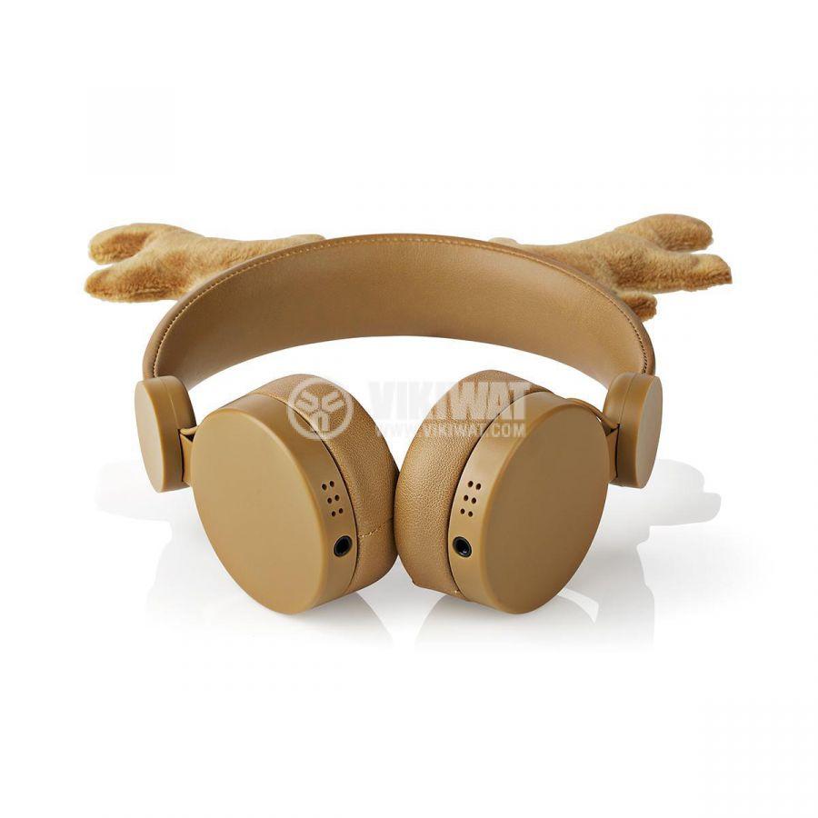 Слушалки 85dB 1.2m кафяви - 6