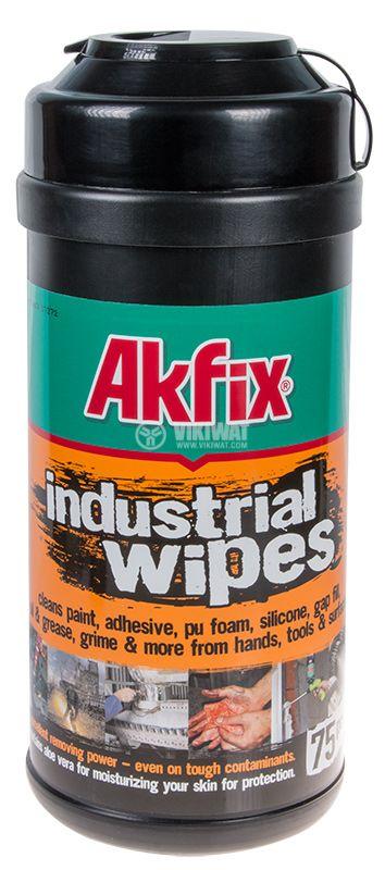 Индустриални кърпи Akfix 75бр 220x203mm
