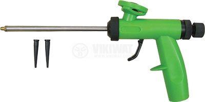 Пистолет за полиуретанова монтажна пяна PVC