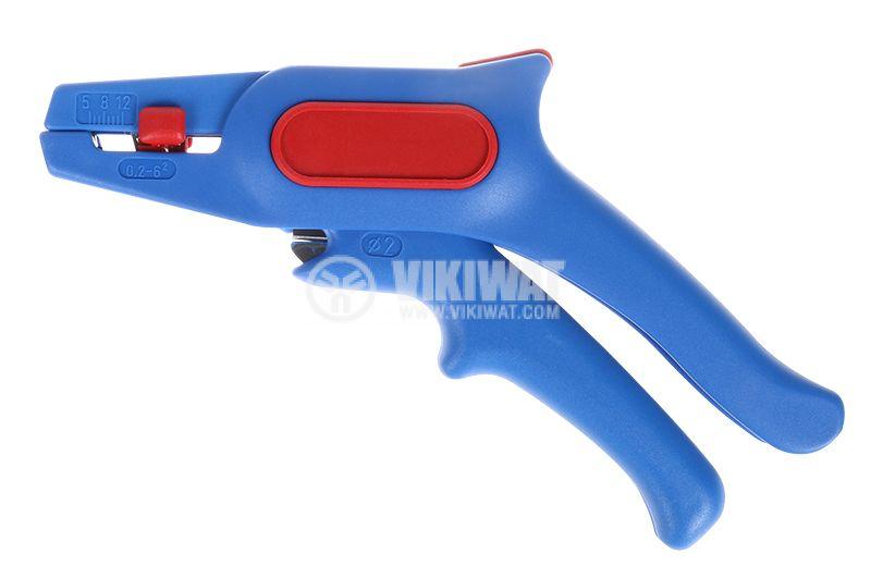 Клещи за оголване и зачистване на кабели заголвачки 0037030002 0.02-6mm2 - 1