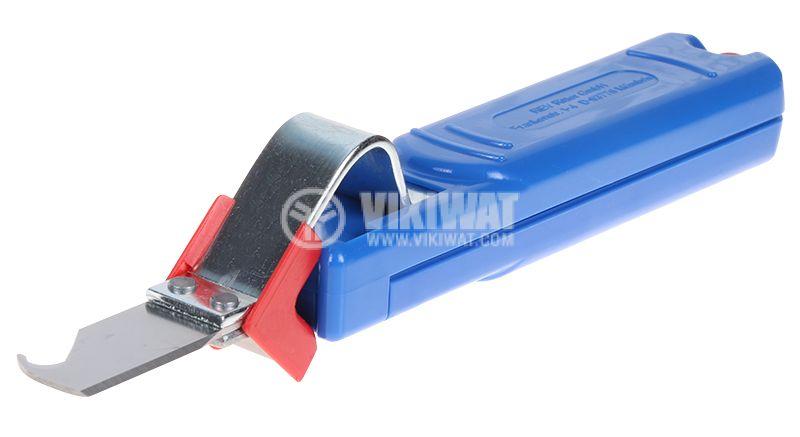 Инструмент за оголване на кабели 4-28mm - 1