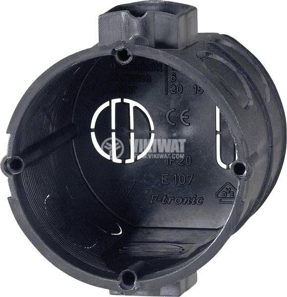 Универсална разклонителна кутия GAO 354100001 за вграждане ф60x61mm - 1