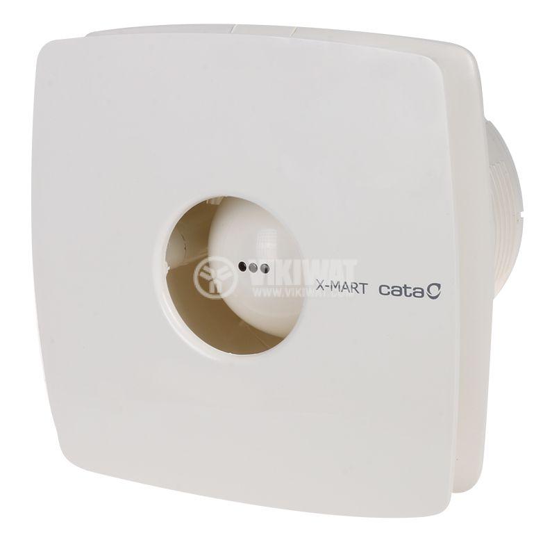 Вентилатор ф100mm 230V 15W 98m3/h бял Cata X-MART 10 - 1
