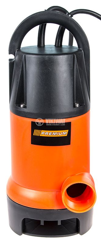 Потопяема помпа за мръсна вода 750W - 2