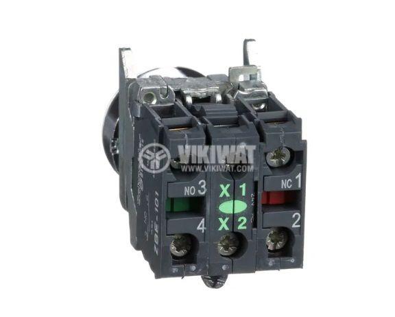 Бутон ф22mm 10A/240V 2 позиции SPDT - 3