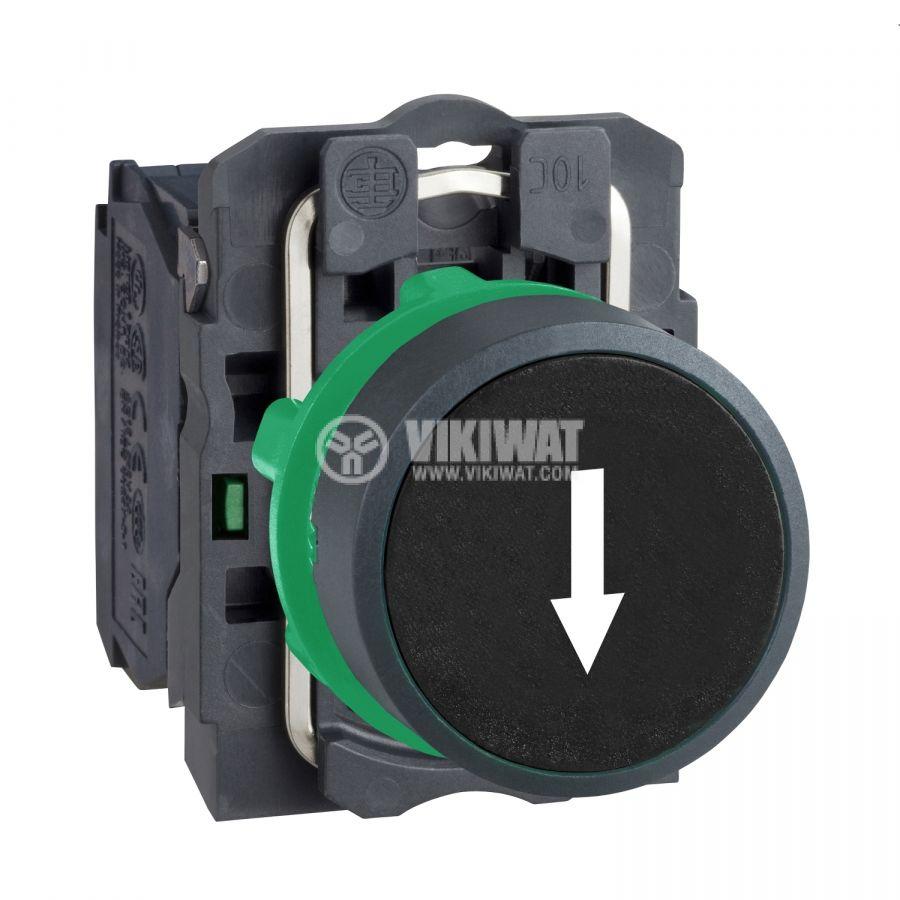 Панелен превключвател XB5AA3351 бутон ф22mm 3A/240V 2 позиции SPST