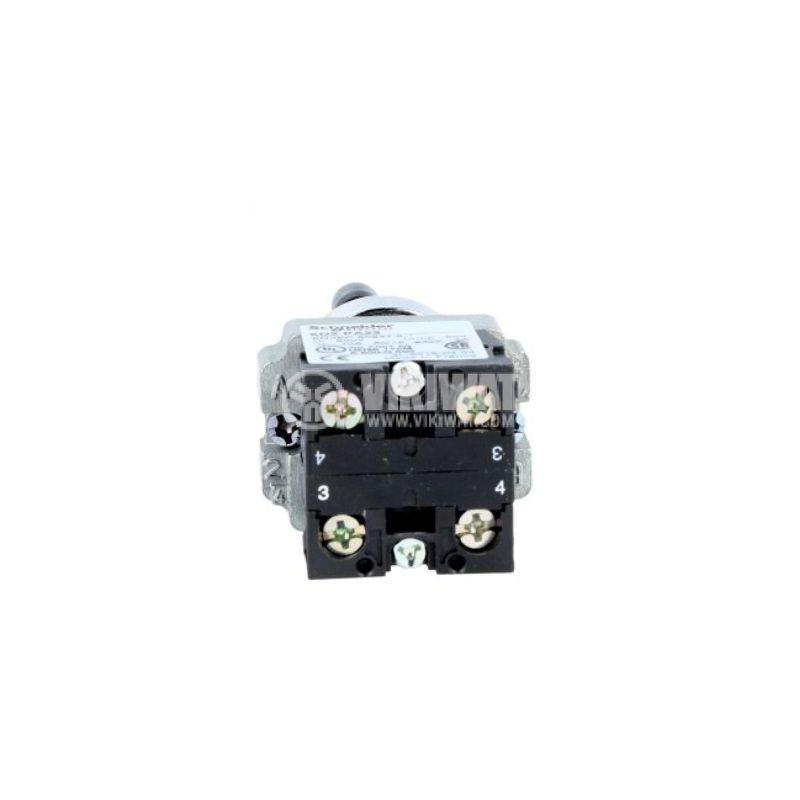 Джойстик XD2PA22, 2поз., 3A/240VAC, DPST, 2xNO - 2