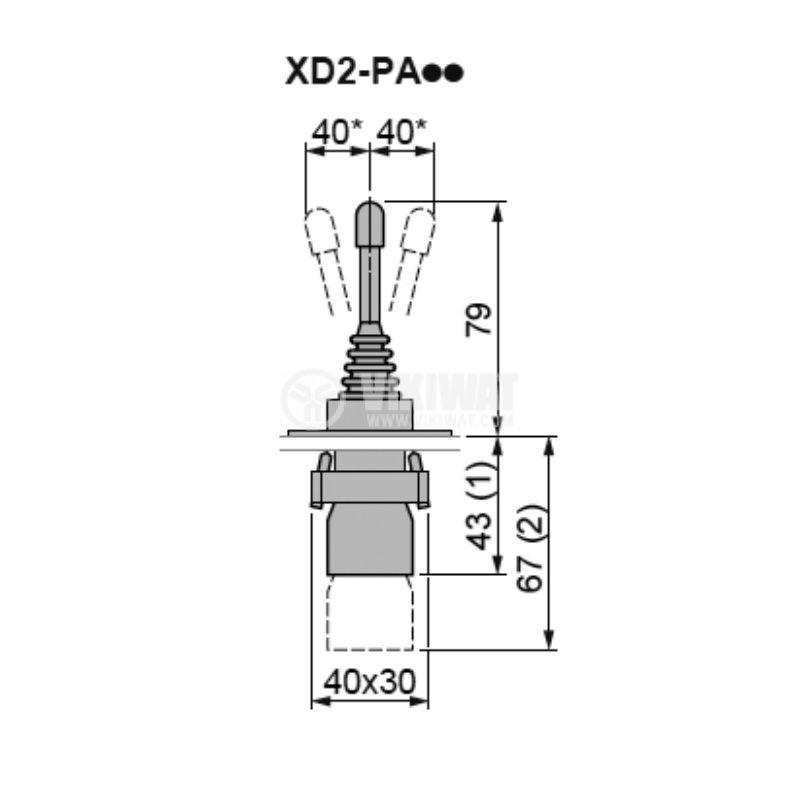 Джойстик XD2PA22 - 3