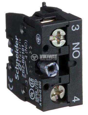 Контактен блок 3A/240VAC SPST-NO - 2