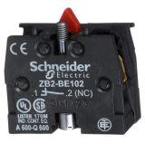 Контактен блок ZB2BE102, 3A/240VAC, SPST-NC