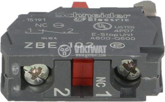Контактен блок за превключватели XB5 ZB4 и ZB5 - 2