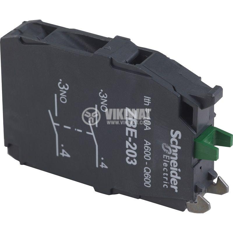 Контактен блок за превключватели XB5 ZB4 и ZB5 - 3