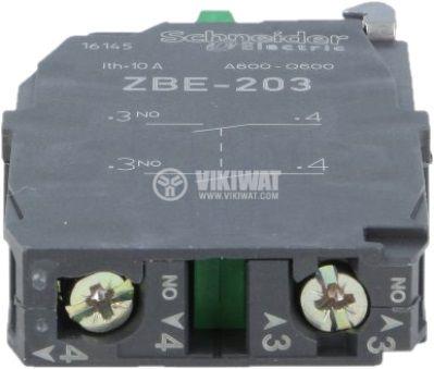 Контактен блок 3A/240VAC DPST-2xNO - 2