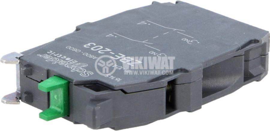 Контактен блок ZBE203 - 1