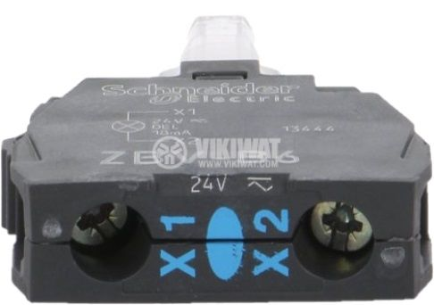 Индикаторна лампа LED за панелни превключватели XB5 ZB4 и ZB5 - 2
