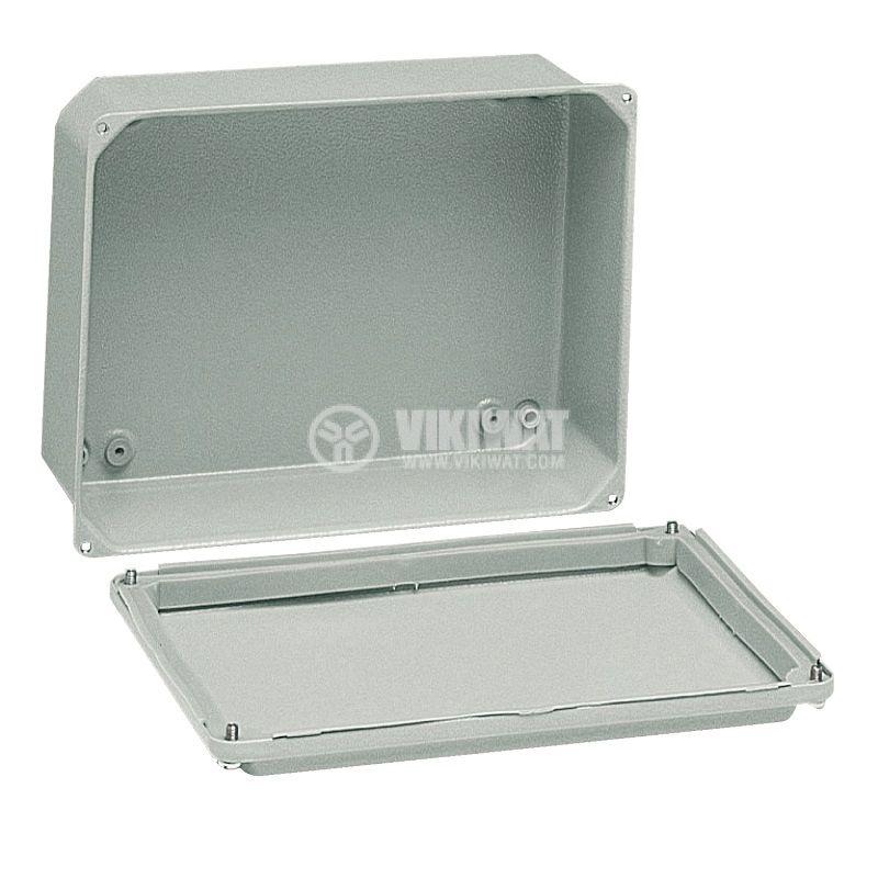 Разклонителна кутия за стенен монтаж 105x155x61mm стомана - 2