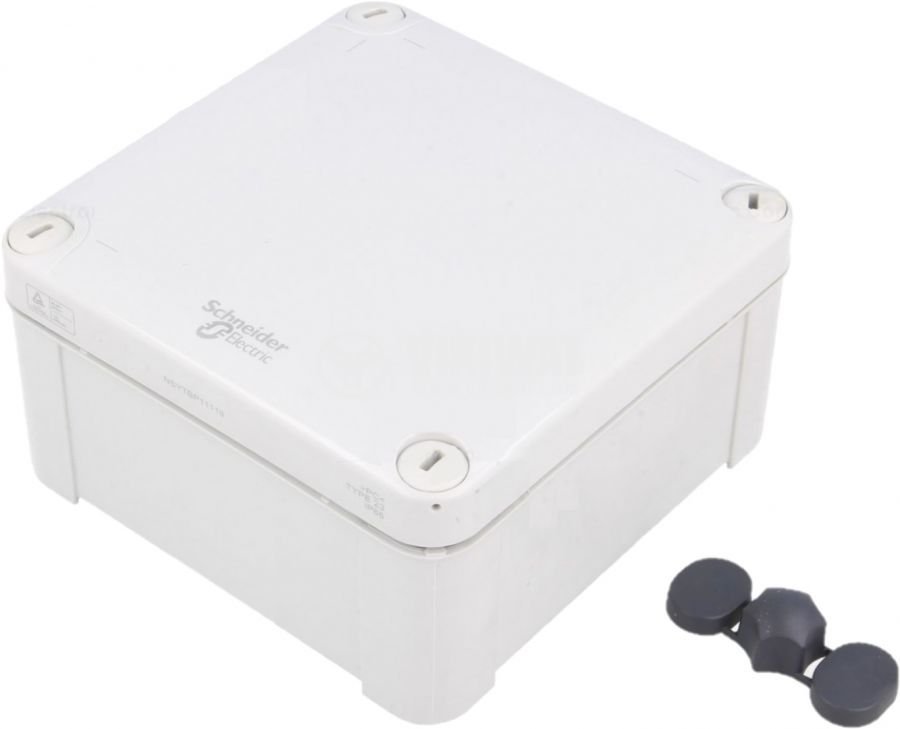 Универсална разклонителна кутия NSYTBP11116 за стенен монтаж 105x105x62 пластмаса