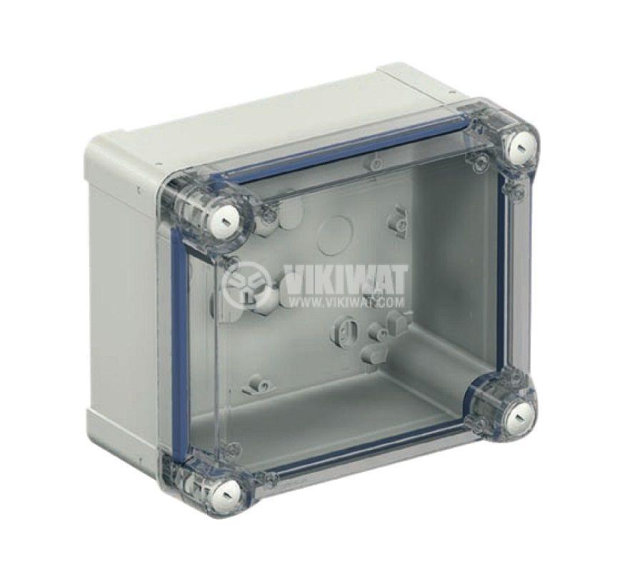 Универсална разклонителна кутия NSYTBP191210HT за стенен монтаж 121x192x105mm пластмаса