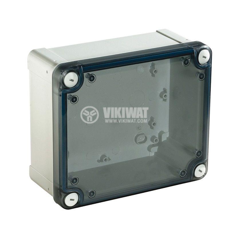 Универсална разклонителна кутия NSYTBP19128T за стенен монтаж 121x192x87mm пластмаса