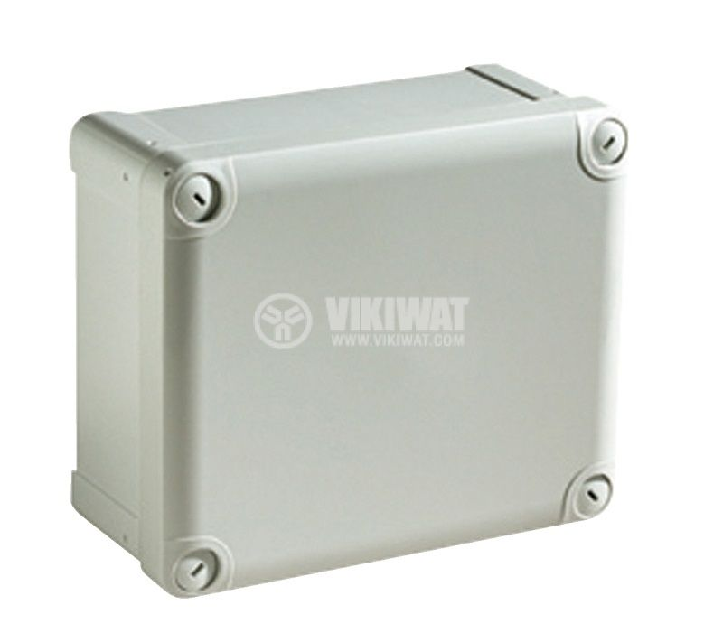 Универсална разклонителна кутия NSYTBP241912H за стенен монтаж 194x241x127mm пластмаса