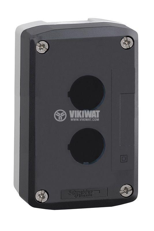 Кутия, XALD02, за пулт за управление 68x74x53mm, сива