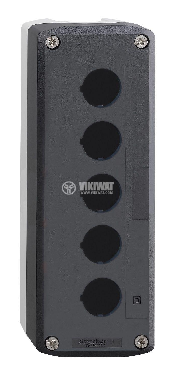 Кутия, XALD05, за пулт за управление 68x158x53mm, сива