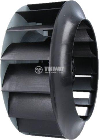 Вентилатор 230V радиален 182x85 със сачмен лагер 510m³/h - 2